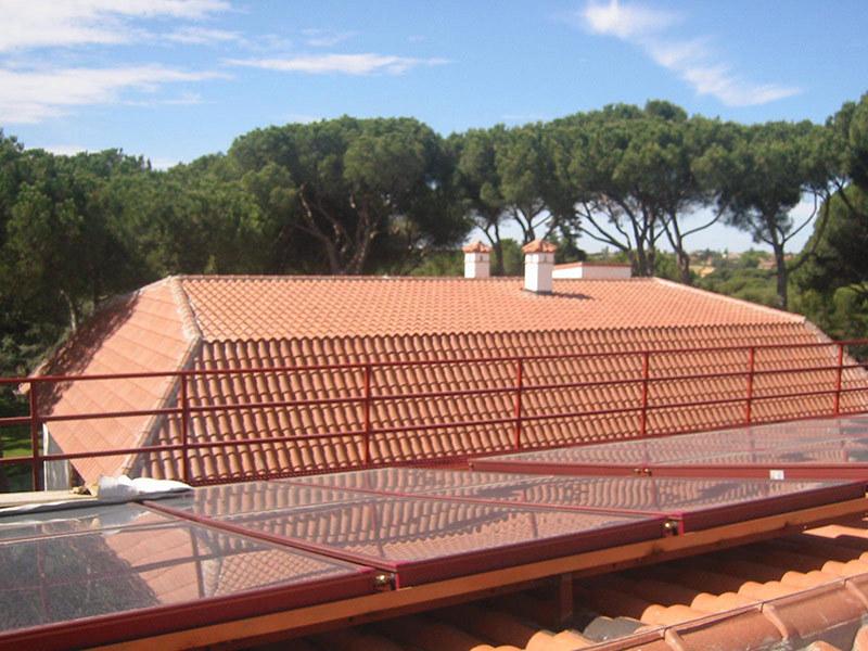 Montaje de tejados en madrid cubiertas melero - Cubiertas para tejados ...