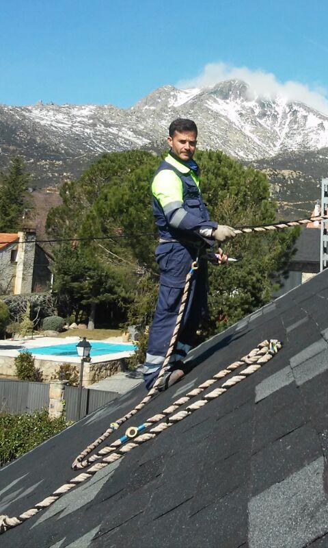 Cubiertas de pizarra en madrid trendy nuevo tejado de - Cubiertas de pizarra en madrid ...